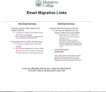 image of email page